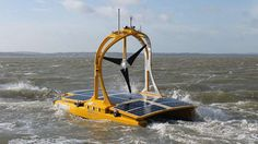 Autonomous catamaran begins studying the Celtic Sea... The C-Enduro is powered by solar panels, a wind turbine and a diesel engine. Marine robotic technologies give us the opportunity to have a persistent presence in these areas, and are changing the way in which we conduct science in the marine environment. ... #Drones #Robots #Robotics #RemoteControl