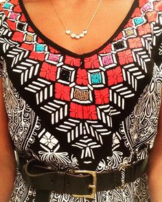 Tribal print continues. #outfitoftheday #happysunday