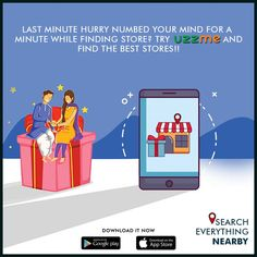 Unable to buy the Rakhi Gift due to your busy schedule? Worrying about where to get those in last minute? Just install UzzMe and find the nearest store with ease. Rakhi Gifts, Raksha Bandhan, Last Minute, No Worries, Schedule, App, Store, Timeline, Tent