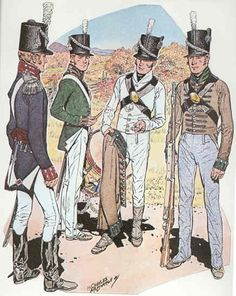 Uniforms of the 22nd U.S. Infantry, War of 1812