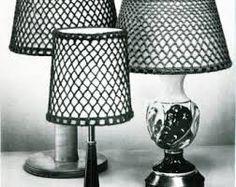 Resultado de imagen para macrame lamp shade pattern
