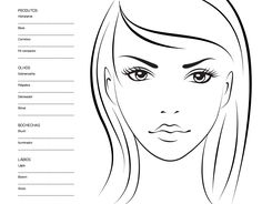 Boa tarde meninas! Para quem acompanhou o post de ontem, explicamos um pouquinho sobre os Face Charts, croquis de maquiagem que te permitem desenhar makes para guardar ideias ou uma combinação que funcionou e que seria legal produzir de novo.