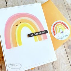Somewhere Over the Rainbow Kit from Taylored Expressions – fastest turtle… Rainbow Card, Rainbow Colors, Card Making Kits, Rainbow Sprinkles, Shaker Cards, Over The Rainbow, Creative Cards, Kids Cards, Journal Cards