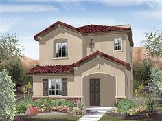 Stefania by Ryland Homes at Maravilla Courtyards Ryland Homes, New Housing Developments, Courtyards, Mansions, House Styles, Woman, Home Decor, You Are Awesome, Luxury Houses