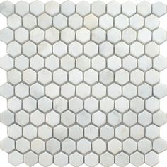 Blanco Marble Hexagon Tiles Oriental Marble Mosaics Tiles 290x285x10mm Tiles