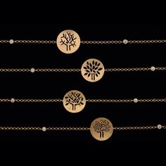 4seasons bracelets. Gold & diamonds