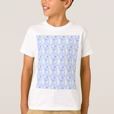 SEAHORSE PATTERN T-Shirt - individual customized designs custom gift ideas diy