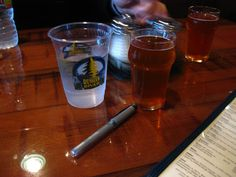 Russian River Brewery in Santa Rosa, California has the best happy hour. Especially when the Delicious Pliny the Younger Beer is on tap. Pliny The Younger, Best Happy Hour, 10 Year Anniversary, Local Seo, How To Make Beer, Brewery, Shot Glass, River, Tableware