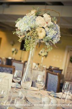 Niagara Wedding Florist // Centerpieces