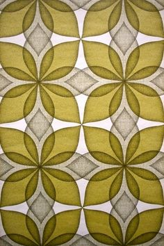 vintage wallpaper (would love in guest bedroom with dark red velvet chair; or single wall of office)