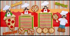 Pizza delivery layout . I did this using Treasure Box Designs Files.