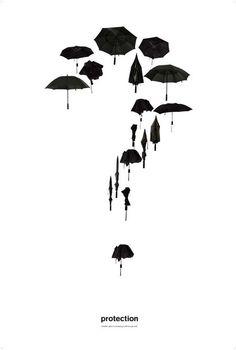 Umbrella Tattoo | http://wonderfultatoos.blogspot.com