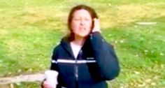 Video: Woman attacks #Muslims praying in #California park: 'Allah is Satan and you are all murderers'      A woman hurled Islamophpbic slurs and then hot coffee at a group of Muslims after she saw them praying in a California park.  http://www.doamuslims.org/?p=5619  #Islamophobia