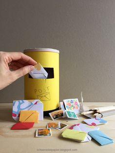 ...Absender Kinderzimmer. Hast du auch einen Briefkasten oder zwei bei dir zu Hause für die interne Post? Schon kleine Kinder dürfen mi...