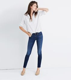 """Madewell 8"""" Skinny Jeans  The #1 Skinny Jeans, According to a Fashion Stylist via @WhoWhatWearUK"""