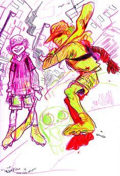 paranoia agent (twin peaks the anime) holy fuck what a great series Ghibli, Iron Man Stark, Saga Art, Satoshi Kon, Character Art, Character Design, Sailor Moon R, Love Stage, Tumblr Love