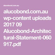 alucobond.com.au wp-content uploads 2017 09 Alucobond-Architectural-Statement-060917.pdf Apple Coloring Pages, Coloring Books, Hummingbird Cake Recipes, Soapstone Counters, Hawaii, Moana Birthday Party, Pencil Toppers, Decimal, Sweet Potato Casserole