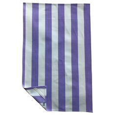 Lilac and Off White Stripe Tea Towel Pastel Colors, Colours, Quality Kitchens, Striped Fabrics, Chair Covers, Tea Towels, Off White, Lilac, Chair Sashes