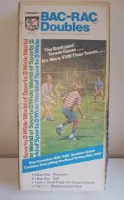 "Crown Recreation ""ABC's Wide World of Sports"" BAC-RAC Doubles lawn game"