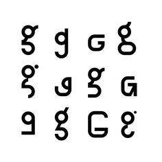 letter study - G