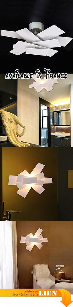 Best wishes shop Applique murale- Creative Water Pipe Mur Lampe - eclairage led escalier interieur