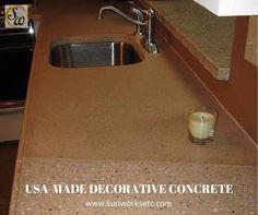 Good Concrete Countertops   Sunworks, Etc. Of Annville PA. Online Photo  Galleries Www.sunworksetc.com #DecorativeConcrete #concrete #countertops    Pinterest ...