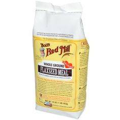 Bob's Red Mill, Whole Ground Flaxseed Meal, 16 oz (453 g) - iHerb.com