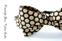 Mens Bow Tie Tadao Ando by speaklouder on Etsy, $41.00  Handmade baby!
