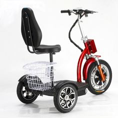 If you are on a mobile device, please click here for detailed information!   The Travel-X Deluxe electric mobility scooter This electric scooter was design