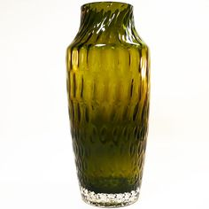 Glas Vase • Tamara Aladin, 1433 für Riihimaen Lasi • Finnish Art Glass