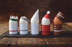 Vad sägs om ett litet luciatåg till frukost? Och då menar jag inte det där sjungande luciatåget utan det som kommer med goda frukostägg… Julpyssel Luciatåg Att göra äggkoppar av halverade... Christmas Gnome, Very Merry Christmas, Christmas Crafts For Kids, Xmas Crafts, Simple Christmas, Christmas Art, Christmas Holidays, Diy And Crafts, Christmas Decorations