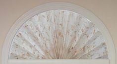 Cre8tive Heart: Handmade Arch Fan Window Shade
