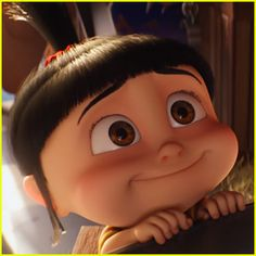 Agnes we love you! despicable me Minions 3