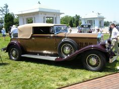 1931 Pierce-Arrow Model 41 Convertible Victoria by LeBaron