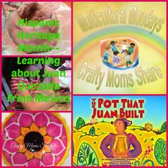 Crafty Moms Share: Hispanic Heritage Month Blog Hop--Learning about Juan Quezada a Mexican Potter