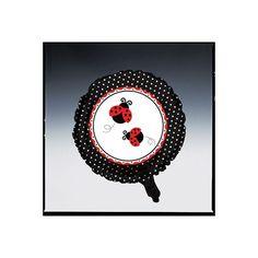 Ladybug Fancy Metallic Balloon 18in