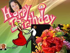 HAPPY  BIRTHDAY!!!  HELGA!! by Gyula Dio  via slideshare