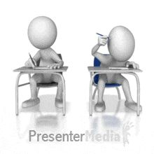 ID# 10038 - Looking Over Cheating - PowerPoint Animation 3d Figures, Stick Figures, Cartoon Stickers, Cartoon Pics, Stickman Animation, Gif Library, Animated Clipart, Stick Figure Drawing, Powerpoint Animation