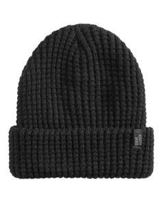 db2fbb6c10296 Steve Madden Men s Waffle-Knit Beanie - Black Mens Knitted Scarf