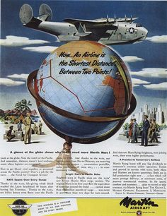 Ad for Martin Aircraft 1945