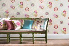 Papel pintado de flores #wallpaper #flowers