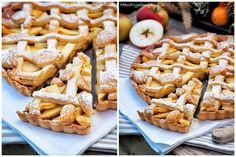 Křehký koláč s jablky (Apple pie) Apple Pie, Waffles, Cookies, Breakfast, Food, Crack Crackers, Morning Coffee, Biscuits, Essen