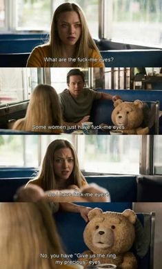 Ted is a badass