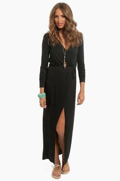 Mimi Maxi Wrap Dress $48 at www.tobi.com