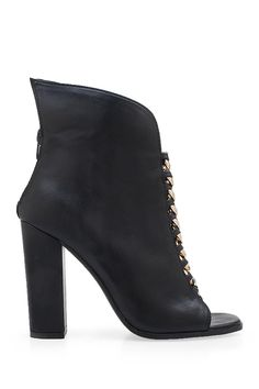 Latch Zip Leather Bootie by Privileged on @nordstrom_rack