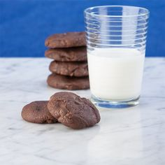 Mom's Cocoa Drop Cookies from Gluten Free Canteen