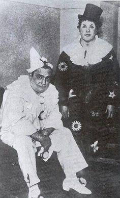 Enrico Caruso & Titta Ruffo in 'I pagliacci'