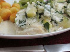 Receita prato : Bifes de frango com molho de curgete e mangericão de Cozinhar_sem_lactose