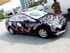 Unique wallpaper wedding car decorations and wedding cars for Auto decoration in pakistan