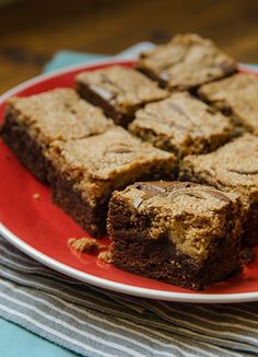 Decadent Peanut Butter Brownies | Bob's Red Mill
